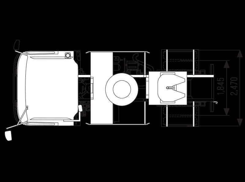 ISUZU GIGA GVR 34 TH Tracktor Head