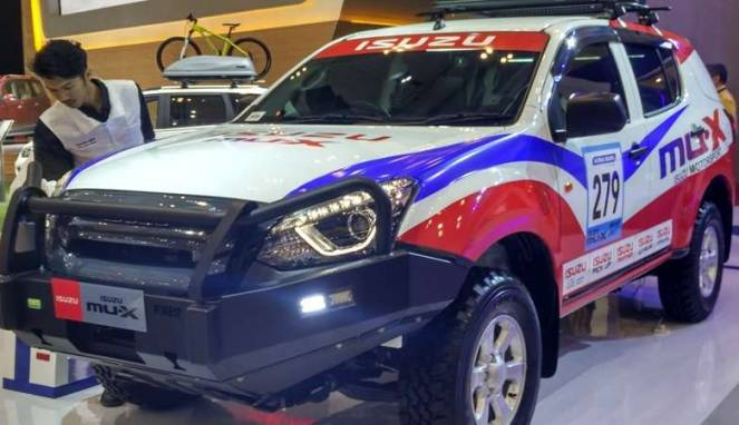 Isuzu Tak Mau Kalah, Ikut Tampilkan Mobil Baru di GIIAS