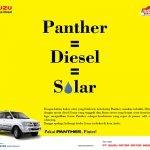 panther diesel solar