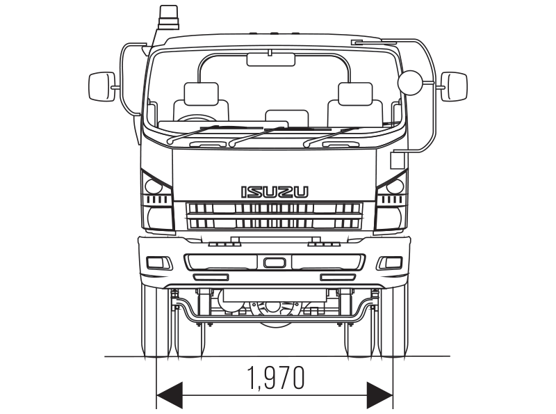 ISUZU GIGA GVR 34 TH Tracktor Head
